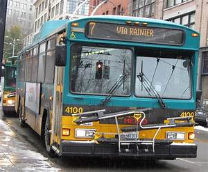 King County Metro 2001 Gillig Phantom Trolley 4100