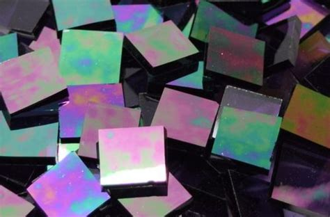 stained glass purple purple iridescent waterglass stained glass mosaic tiles