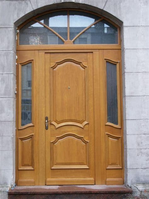 porte d entree bois photos de r 233 alisations de portes d entr 233 es en bois metz nancy longwy thionville verdun