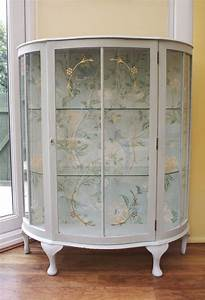 25 best ideas about glass display cabinets on pinterest for Kitchen colors with white cabinets with hand drawn wall art
