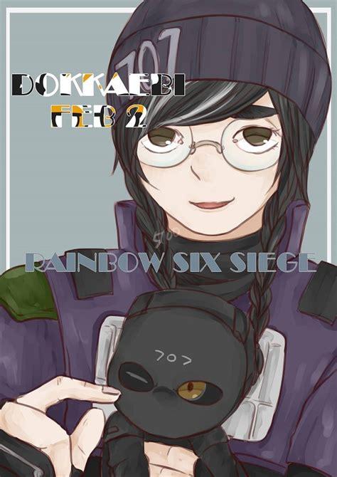 dokkaebi happy birthday  rainbow  siege art