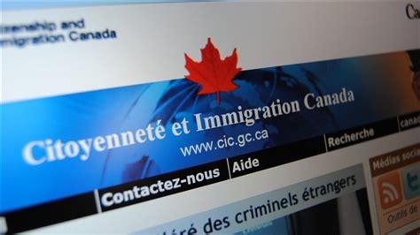 bureau de l immigration canada les candidats à l immigration ne doivent plus envoyer de