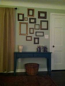 Best ideas about empty frames decor on