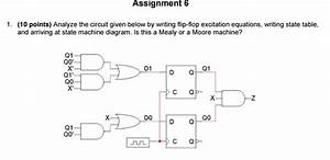 Solved  Analyze The Circuit Given Below By Writing Flip