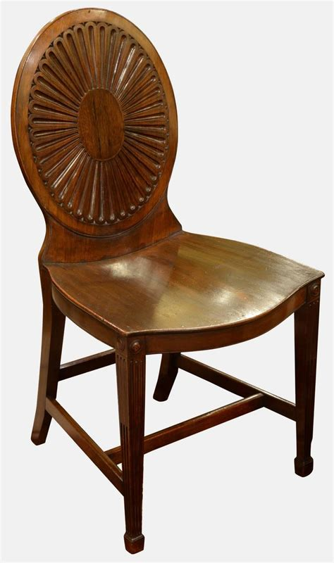 set of eight george iii hepplewhite style dining chairs