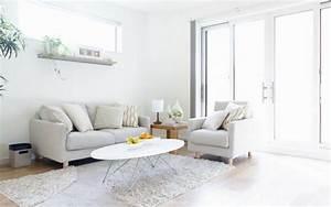 Comment Agencer Son Salon : d co salon blanc pour un int rieur lumineux et moderne ~ Melissatoandfro.com Idées de Décoration