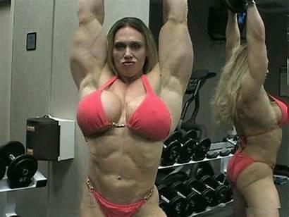 Deviantart Ggbells Colette Muscle Bodybuilder Female Nelson