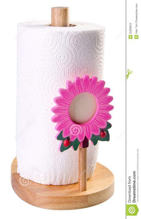 kitchen tissue paper  towel holder stock image image