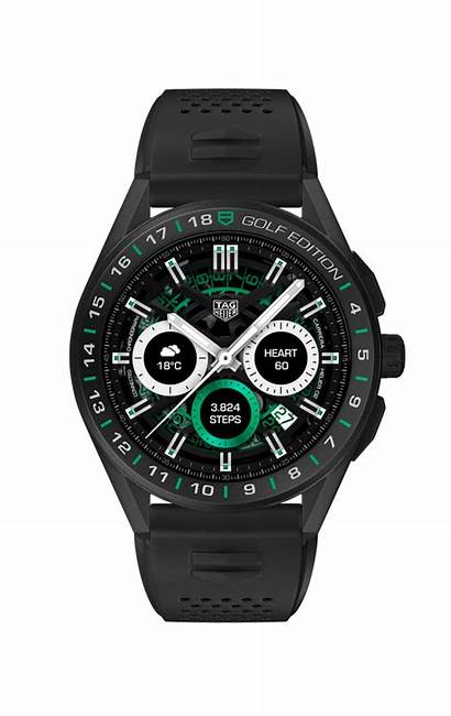 Golf Tag Heuer Luxury Level Face Smartwatch