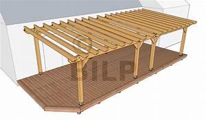 Construire Une Pergola En Bois : les fondations et supports pergolas et tonnelles faire ~ Premium-room.com Idées de Décoration