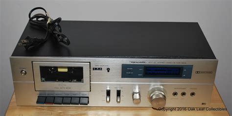 Vintage Realistic SCT-22 Stereo Cassette Deck