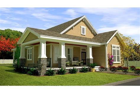 home plans craftsman style craftsman style cottage with wrap around porch hwbdo77189 craftsman from builderhouseplans