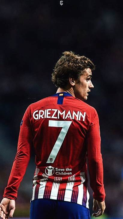 Atletico Madrid Griezmann Antoine Jdesign Pantalla Fondo