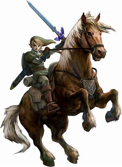 Zelda Link Epona Twilight Princess Legend Artwork
