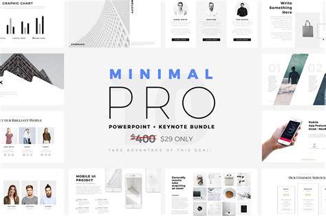 minimal pro  bundle keynote templates