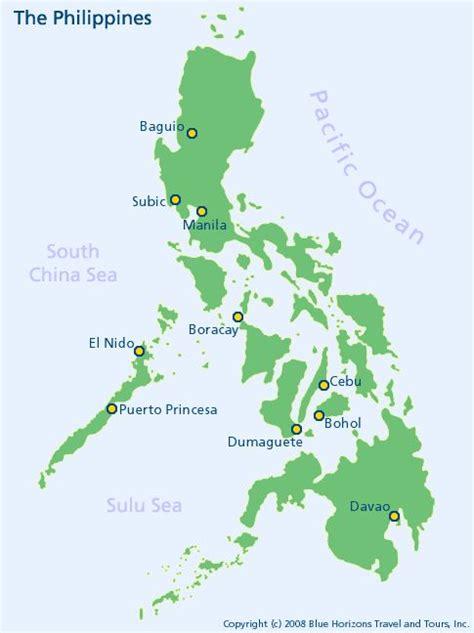 map   philippines manila cebu bohol boracay