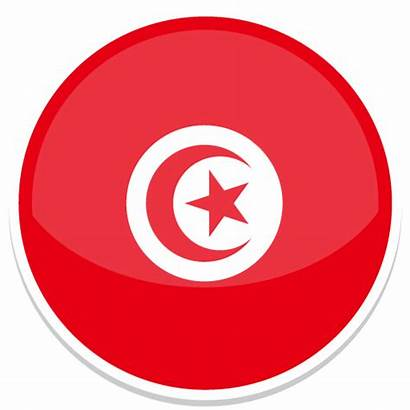 Icon Tunisia Round Flags Custom Icons