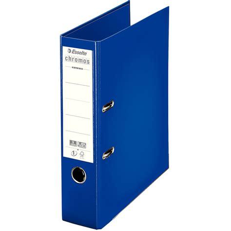 trieur bureau esselte classeur à levier chromos plus 80mm bleu 230103