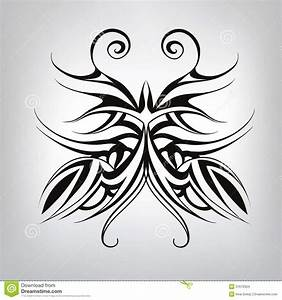 Tatouage Symbole Vie : tatouage de papillon de symbole illustration de vecteur images stock image 37676334 ~ Melissatoandfro.com Idées de Décoration