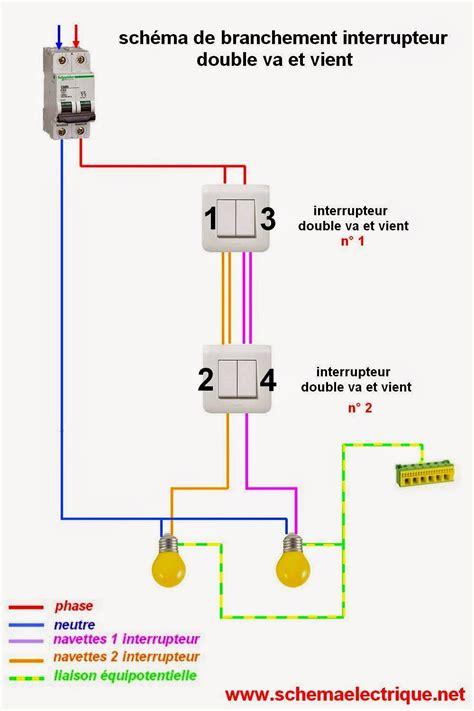 schema branchement va et vient 233 lectricit 233 201 lectricit 233 electrique et