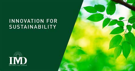 innovation  sustainability