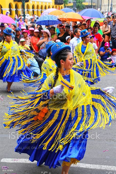 Kaypi, perú—this is peru in the indigenous quechua language—highlights peru's rich and diverse cultural heritage and traditional arts. Local Women Dancing In Lima Peru Stock Photo - Download Image Now - iStock