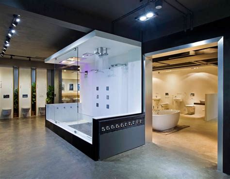Modern Bathroom Showroom by Emporio Design 6 Provocative Modern Architecture