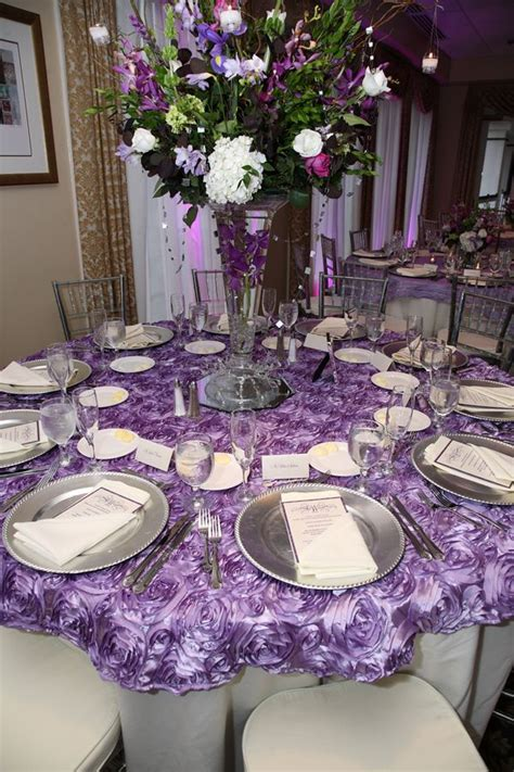 Lilac Decorations Wedding Tables - i do linens a touch of lilac wedding ideas in 2019