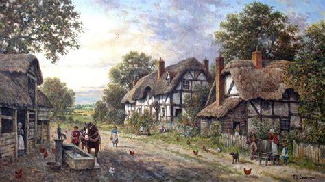 english cottage desktop wallpaper hd