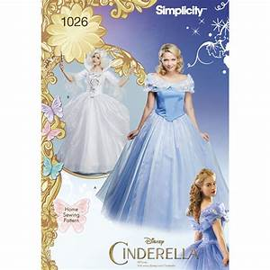 Pattern for Disney Cinderella and Fairy Godmother Misses