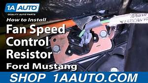How To Replace Blower Motor Resistor 94