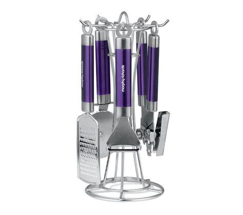 morphy richards plum kitchen accessories buy morphy richards four kitchen utensil set plum 9290