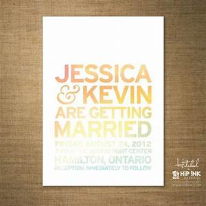 watercolor modern minimalist typography wedding With minimalist beach wedding invitations