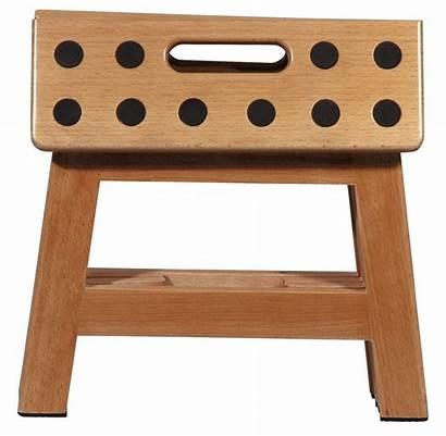 Foldable Step Wooden Stool Kitchen Wood Stools