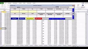Excel Rechnung Mit Kundendatenbank : erstellung und bearbeitung von datenbanken auf basis einer excel 2010 datei vba programmierung ~ Themetempest.com Abrechnung