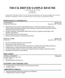 sle resume for internship pdf transport driver resume sle