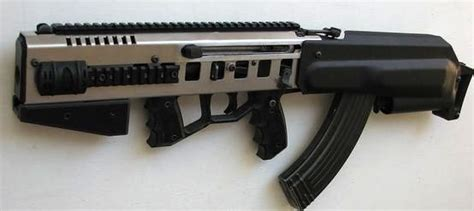 Ak Bullpup Conversion From Center Balanced Rifle Systems