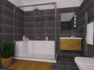 Faience murale salle de bain lapeyre galerie et best for Salle de bain design avec hottes décoratives murales
