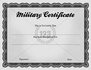 quality military certificate templates 123certificate With military certificates templates