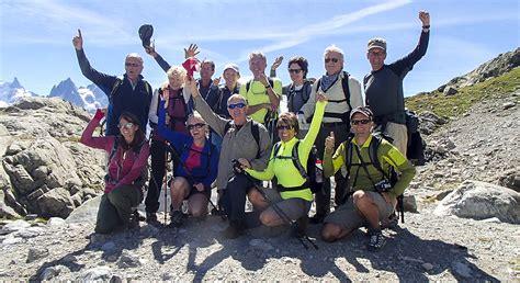tour du mont blanc itinerary map wilderness travel