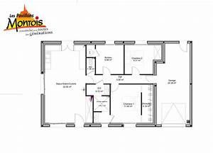 plan maison 80 m2 plain pied plan maison 3 chambres With plan de maison 120m2 0 votre avis sur notre plan maison 120m2 16 messages