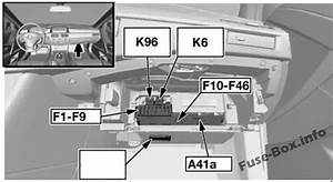 Fuse Box Diagram Bmw 5 E61  2003