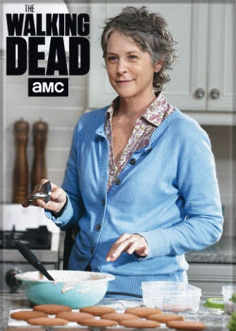 The Walking Dead Carol Peletier Fridge Magnet Negan Daryl
