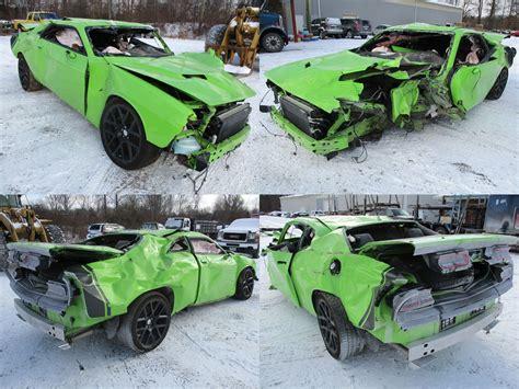 2015 Sublime Green Dodge Challenger R/T Scat Pack 6.4L