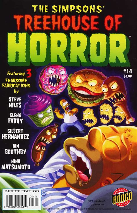 simpsons treehouse  horror  simpsons wiki