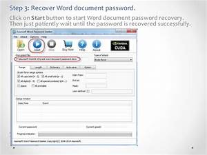 How to open password protected word document without password for Word documents protected