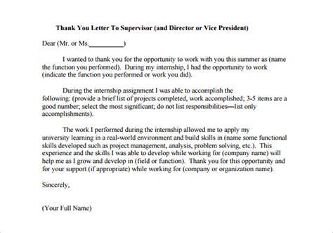 internship thank you letter 14 internship thank you letter templates pdf doc 22569 | Internship Thank You Letter to Supervisor Sample PDF Download