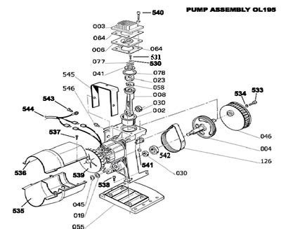 husky air compressor parts diagram automotive parts diagram