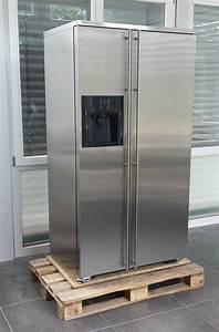 Ami kuhlschrank side by side edelstahl kuhlkombination for Ami kühlschrank