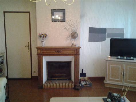 refaire sa cuisine sans changer les meubles habillage cheminée à moderniser en placo
